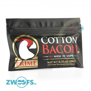 De Cotton Bacon v2 is perfect katoen voor uw coils
