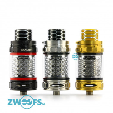 De Smok TFV12 Cobra Prince Tank is een 2ml. Sub-ohm clearomizer met verstelbare Bottom Airflow Slots.