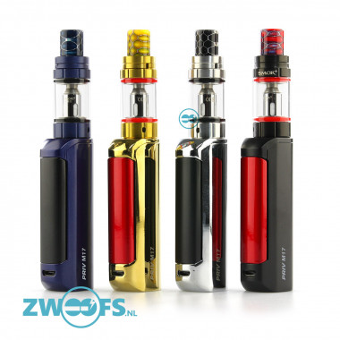 De Smok Priv M17 Kit is een compacte Sub-ohm kit die zowel geschikt is voor de Mouth to lung en Direct Lung damper.
