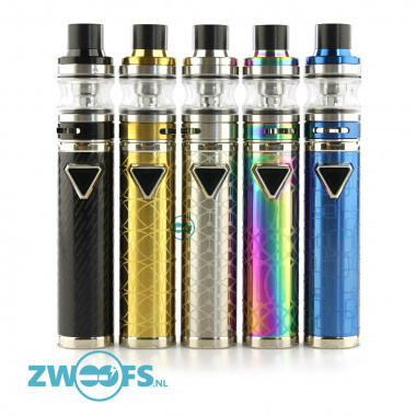 De Eleaf iJust ECM Kit is een combinatie van de iJust ECM batterij en de ECM Sub-ohm Clearomizer.