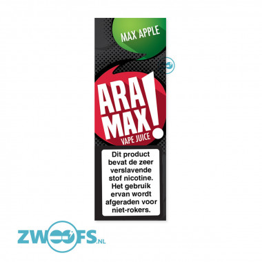 Aramax - Max Apple E-Liquid voor in elektrische sigaretten