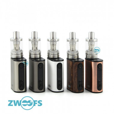 De Eleaf iStick Power Nano Kit is een combinatie van een 40watt box mod met temperatuur controle en ingebouwde 1100mAh batterij en een 2ml Eleaf Melo 3 Nano Clearomizer.