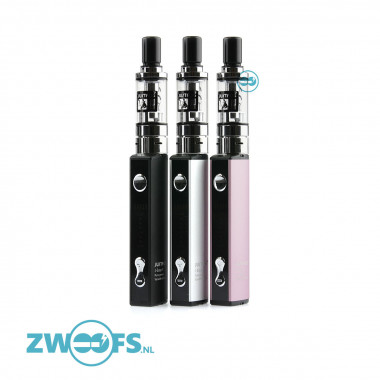 De Q16 clearomizer heeft een diameter van 16mm en past naadloos op de J-easy 9 box mod.
