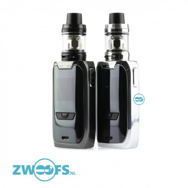 De Vaporesso Revenger Mini Kit is sub-ohm starterkit bestaande uit de Vaporesso Revenger Mini touch screen Box mod en de Vaporesso NRG SE mini clearomizer.