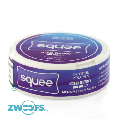 Squee Nicotine Pouches - Iced Berry kopen bij Zwoofs?