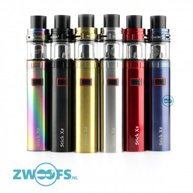 De Smok Stick X8 Kit is een kant-en-klare subohm kit voor de Direct Lung dampers die enorme wolken willen blazen
