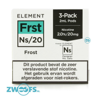 Element NS20 Pod - Frost (3 Stuks)