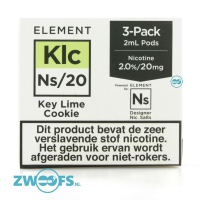 Element NS20 Pod - Key Lime Cookie (3 Stuks)