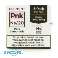 Element NS20 Pod - Pink Lemonade (3 Stuks)