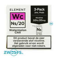 Element NS20 Pod - Watermelon Chill (3 Stuks)
