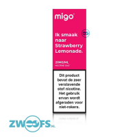 Migo Nic Salt E-Liquid - Strawberry Lemonade