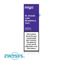 Migo Nic Salt E-Liquid - Blueberry Tart
