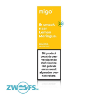 Migo Nic Salt E-Liquid - Lemon Meringue