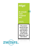 Migo Nic Salt E-Liquid - Tropical Mix