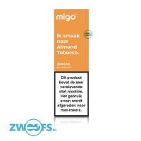 Migo Nic Salt E-Liquid - Almond Tobacco
