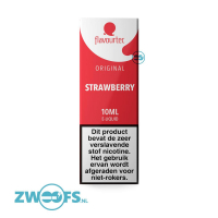 Flavourtec - Strawberry (Aardbei) E-Liquid