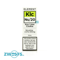 Element Nic Salt E-liquid - Key Lime Cookie