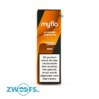 Myflo (Vapr) Nic Salt E-Liquid - Almond Tobacco