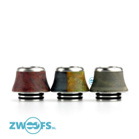 Arctic Dolphin Stabilized Wood Wide 810 Drip Tip