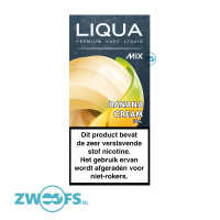 Liqua Mix E-liquid - Banana Cream