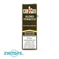 Cirkus Nic Salt E-Liquid - Blend Tobacco