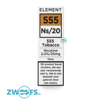 Element Nic Salt E-liquid - 555 Tobacco