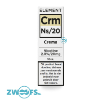 Element Nic Salt E-liquid - Crema