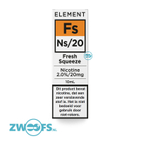 Element Nic Salt E-liquid - Fresh Squeeze