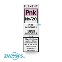 Element Nic Salt E-liquid - Pink Lemonade