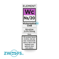 Element Nic Salt E-liquid - Watermelon Chill