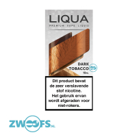 Liqua - Dark Tobacco E-Liquid (Elements)
