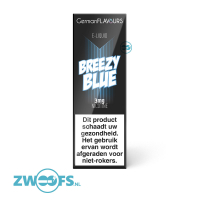 German Flavours E-Liquid - Breezy Blue