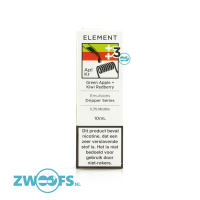 Element E-liquids - Green Apple + Kiwi Redberry