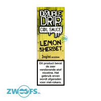Double Drip High VG E-Liquid - Lemon Sherbet