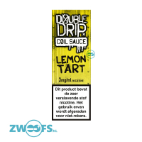 Double Drip High VG E-Liquid - Lemon Tart