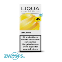 Liqua 4S Nic Salt E-liquid - Lemon Pie