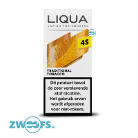 Liqua 4S Nic Salt E-liquid - Traditional Tobacco