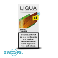 Liqua 4S Nic Salt E-liquid - Virginia Tobacco