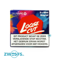 TruVape High VG E-liquid - Loose Cut (3x10ml.)