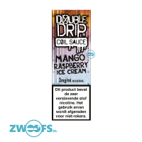 Double Drip High VG E-Liquid - Mango Raspberry Ice Cream
