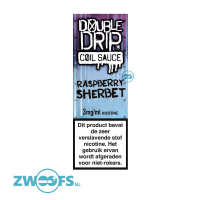Double Drip High VG E-Liquid - Raspberry Sherbet