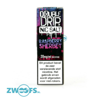 Double Drip Nic Salt  E-Liquid - Raspberry Sherbet