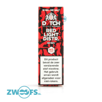 DVTCH Amsterdam Nic Salt E-Liquid - Red Light District