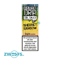 Double Drip High VG E-Liquid - Sherbet Rainbow