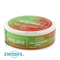 Squee Nicotine Pouches - Iced Strawberry