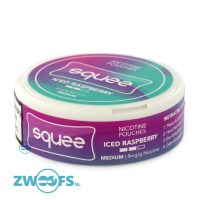Squee Nicotine Pouches - Iced Raspberry