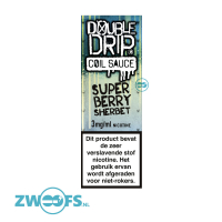 Double Drip High VG E-Liquid - Super Berry Sherbet