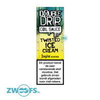 Double Drip High VG E-Liquid - Twisted Ice Cream