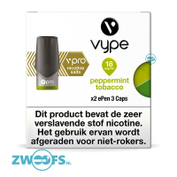 Vype ePen 3 Pod - Peppermint Tobacco (2 Stuks)