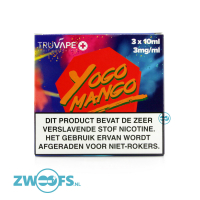 TruVape High VG E-liquid - Yogo Mango (3x10ml.)